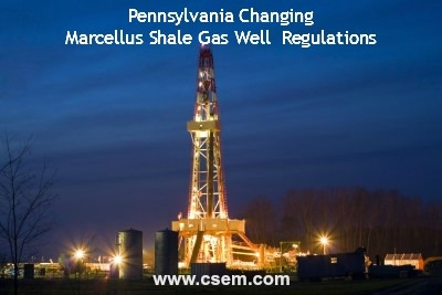 PA Passes Act 13 to Deal With Marcellus Shale Hydraulic